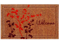 "Naturelles Welcome Door Mat - 30"" x 18"" 601354"