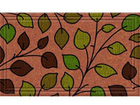 "Naturelles Summer Leaves Door Mat - 36"" x 24"" 601363"