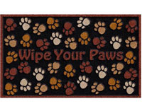 "CSD Wipe Your Paws Door Mat - 30"" x 18"" 601408"