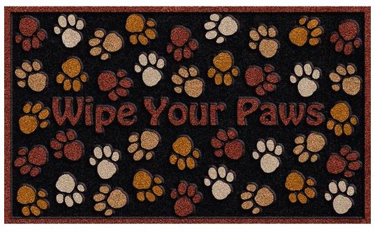 "CSD Wipe Your Paws Door Mat - 30"" x 18"""