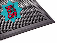 Clean Step Super Scrape Slip-Resistant Entrance Mat GM-CSS