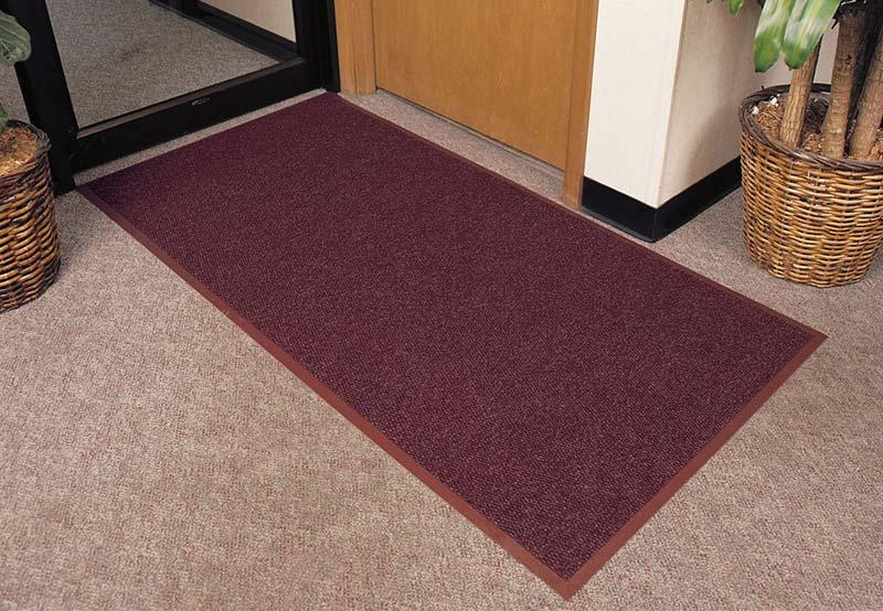 Polynib indoor entrance mat vinyl backing commercial floor matting - Industrial carpet runners ...