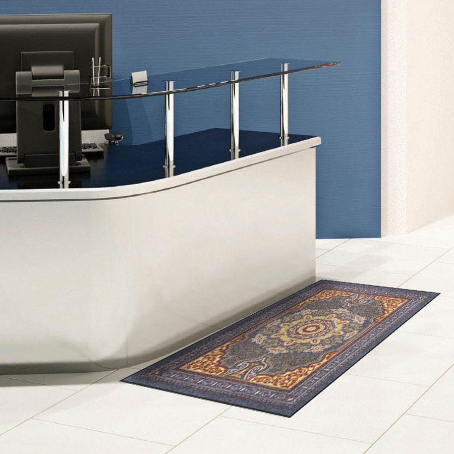 Commercial Reception Area Rugs: Oriental Upscale Entrance Floor Mat