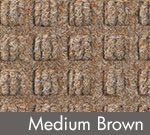 WaterHog Classic Indoor/Outdoor Scraper/Wiper Entrance Mat – Medium Brown - 151