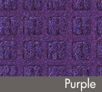 WaterHog Classic Indoor/Outdoor Scraper/Wiper Entrance Mat – Purple - 168