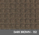 Andersen [200] WaterHog™ Classic Indoor/Outdoor Scraper/Wiper Entrance Floor Mat - Dark Brown - 152