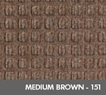 Andersen WaterHog Modular Tile Square Mat - Medium Brown - 151