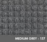 Andersen WaterHog Modular Tile Square Mat - Medium Grey - 157