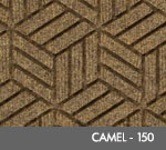 Andersen Legacy Classic Scraper/Wiper Indoor/Outdoor Entrance Floor Mat – Camel - 150