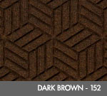 Andersen Legacy Classic Scraper/Wiper Indoor/Outdoor Entrance Floor Mat – Dark Brown - 152