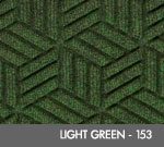 Andersen Legacy Classic Scraper/Wiper Indoor/Outdoor Entrance Floor Mat – Light Green - 153