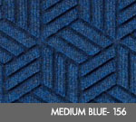 Andersen Legacy Classic Scraper/Wiper Indoor/Outdoor Entrance Floor Mat – Medium Blue - 156