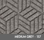 Andersen Legacy Classic Scraper/Wiper Indoor/Outdoor Entrance Floor Mat – Medium Grey - 157
