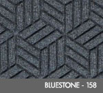 Andersen Legacy Classic Scraper/Wiper Indoor/Outdoor Entrance Floor Mat – Bluestone - 158