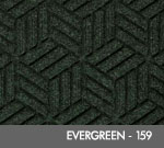 Andersen Legacy Classic Scraper/Wiper Indoor/Outdoor Entrance Floor Mat – Evergreen - 159