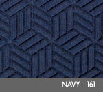 Andersen Legacy Classic Scraper/Wiper Indoor/Outdoor Entrance Floor Mat – Navy - 161