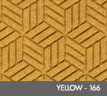 Andersen Legacy Classic Scraper/Wiper Indoor/Outdoor Entrance Floor Mat – Yellow - 166