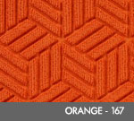 Andersen Legacy Classic Scraper/Wiper Indoor/Outdoor Entrance Floor Mat – Orange - 167