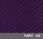Andersen Legacy Classic Scraper/Wiper Indoor/Outdoor Entrance Floor Mat – Purple - 168