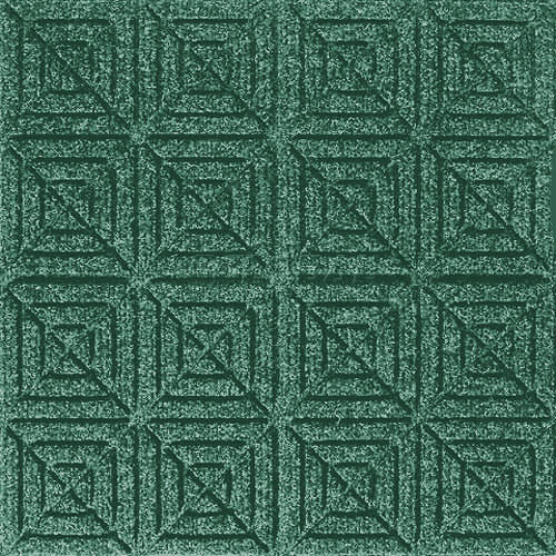 Andersen [221] WaterHog™ Fashion Diamond Indoor/Outdoor Scraper/Wiper Entrance Floor Mat - Aqua Marine - 163