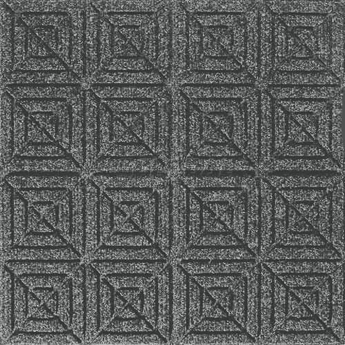 Andersen [221] WaterHog™ Fashion Diamond Indoor/Outdoor Scraper/Wiper Entrance Floor Mat - Bluestone - 158