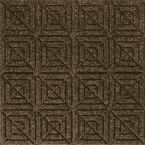 Andersen [221] WaterHog™ Fashion Diamond Indoor/Outdoor Scraper/Wiper Entrance Floor Mat - Dark Brown - 152