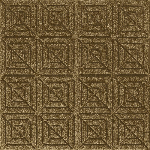 Andersen [221] WaterHog™ Fashion Diamond Indoor/Outdoor Scraper/Wiper Entrance Floor Mat - Medium Brown - 151