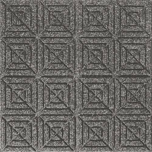 Andersen [221] WaterHog™ Fashion Diamond Indoor/Outdoor Scraper/Wiper Entrance Floor Mat - Medium Grey - 157