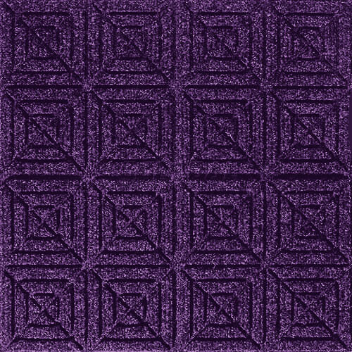 Andersen [221] WaterHog™ Fashion Diamond Indoor/Outdoor Scraper/Wiper Entrance Floor Mat - Purple - 168
