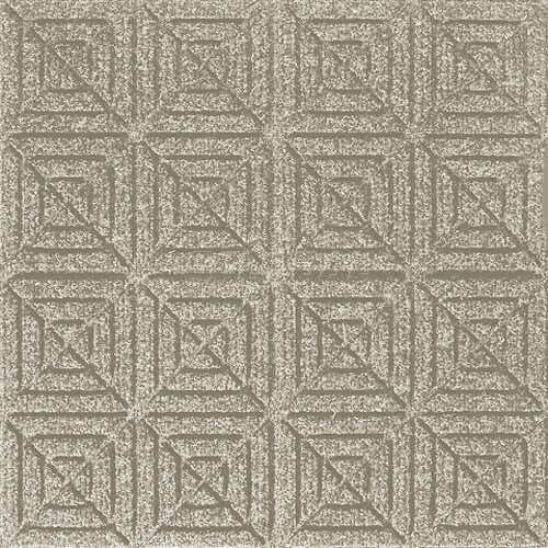Andersen [221] WaterHog™ Fashion Diamond Indoor/Outdoor Scraper/Wiper Entrance Floor Mat - White - 162