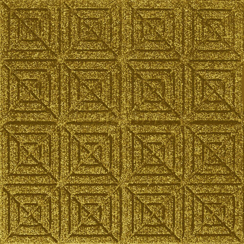 Andersen [221] WaterHog™ Fashion Diamond Indoor/Outdoor Scraper/Wiper Entrance Floor Mat - Yellow - 166