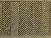 "Andersen [2241] WaterHog ECO Elite Fashion Indoor/Outdoor Scraper/Wiper Entrance Floor Mat - Fabric Border - 3/8"" Thickness AM-2241"