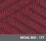 Andersen [2295] WaterHog™ ECO Premier Fashion Indoor Scraper/Wiper Entrance Floor Mat - Regal Red - 177