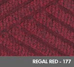 Andersen [2297] WaterHog™ ECO Premier Fashion Fashion Indoor Scraper/Wiper Entrance Floor Mat - Regal Red - 177