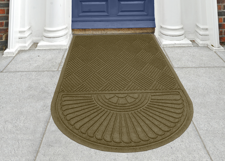 Waterhog Grand Classic Indoor Outdoor Oval Shaped Entrance