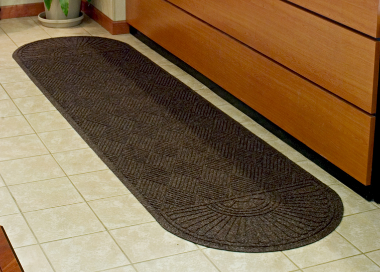 Waterhog Grand Classic Scraper/Wiper Entrance Mat - Two Oval Ends
