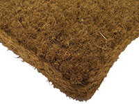 Natural Cocoa Fiber Entrance Mat - Carpet Matting - 38 mm