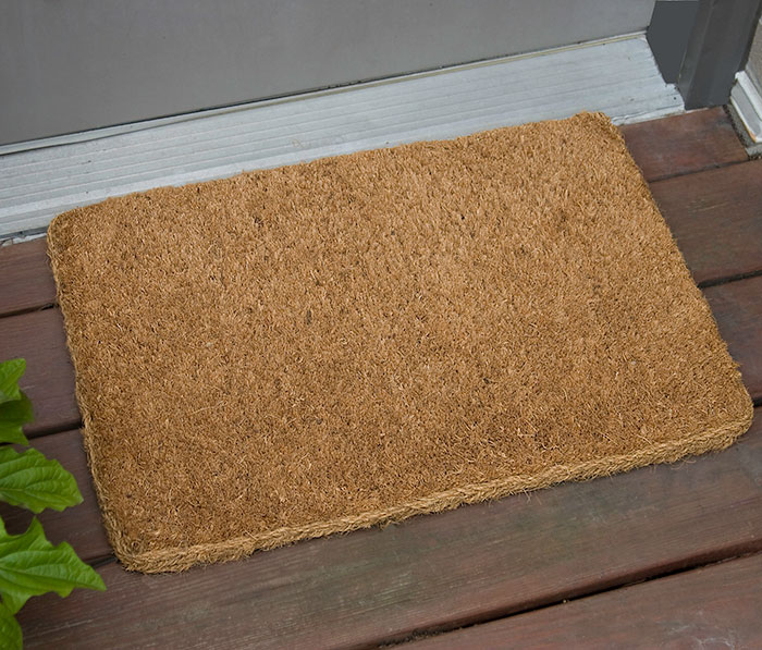 Cocoa Entry Outdoor Entrance Mat - 38mm & Natural Cocoa Fiber Carpet Entrance Rug - FloorMatShop.com ...