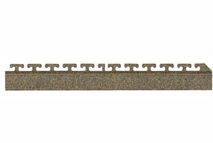 "Waterhog Modular Tile Square Mat - 18"" Side Border"