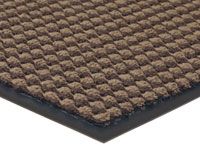 "Prestige Slip-Resistant Door Mat - Brown - 36"" x 24"""
