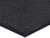 "Apache Rib Indoor Entrance Mat - Pepper - 27"" x 18"""