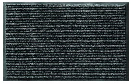 "Apache Rib Indoor Entrance Mat - Onyx - 60"" x 36"""