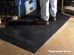 "Andersen [400] Safety Scrape Slip-Resistant Floor Mat - OSHA Border - 1/8"" Thickness - AM-400S"