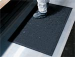 "Andersen [419] Traction Hog Slip-Resistant Floor Mat - Black - Drainable - 1/8"" Thickness - AM-419"