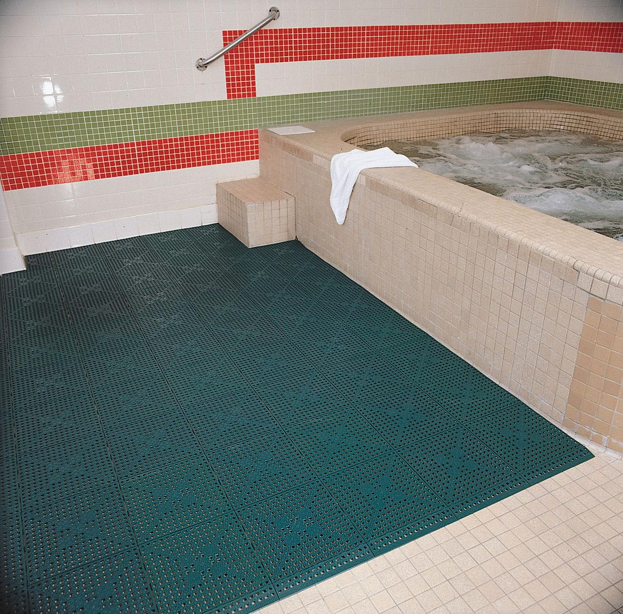 Commercial Kitchen Floor Mats Modular Lok Tyle Specialty Floor Mat 9 16 Floormatshopcom