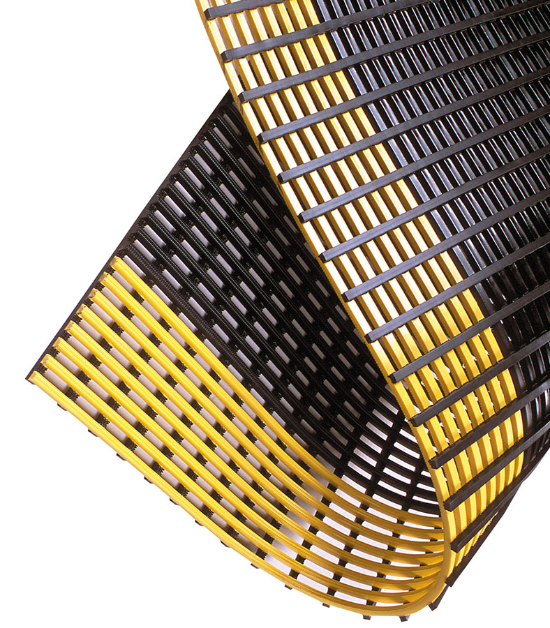 Safety Grid Slip-Resistant Anti-Fatigue Mat - Drainable