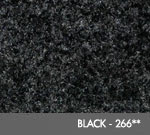 Andersen [125] ColorStar™ Solution Dyed Indoor Wiper/Finishing Floor Mat - Nylon Face - Rubber Backing - Black - 266**