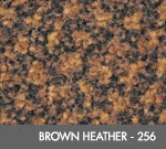 Andersen [125] ColorStar™ Solution Dyed Indoor Wiper/Finishing Floor Mat - Nylon Face - Rubber Backing - Brown Heather - 256