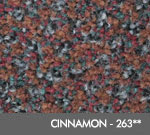 Andersen [125] ColorStar™ Solution Dyed Indoor Wiper/Finishing Floor Mat - Nylon Face - Rubber Backing - Cinnamon - 263**