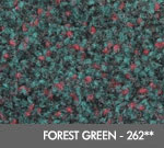 Andersen [125] ColorStar™ Solution Dyed Indoor Wiper/Finishing Floor Mat - Nylon Face - Rubber Backing - Forest Green - 262**